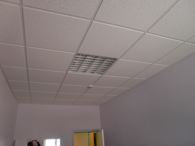 Comment poser lumiere plafond suspendu la r ponse est for Pose faux plafond suspendu
